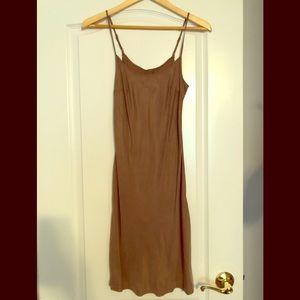 Anthropologie Pure & Good slip dress